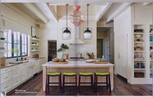 kitchen-cabinets-in-kennesaw-ga-cream-kitchen-blush-island-lime-seat cushions
