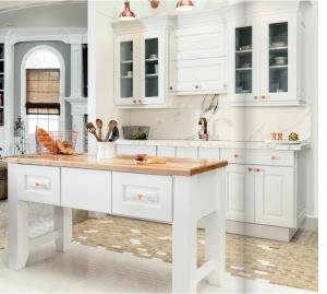 white-kitchen-cabinets-island-Kennesaw-ga